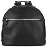 Salvatore Ferragamo Revival Leather Backpack, Black