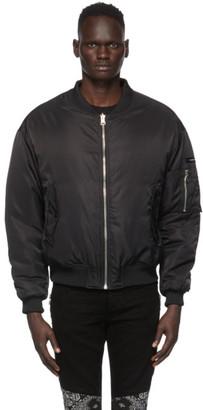 Stolen Girlfriends Club SSENSE Exclusive Reversible Black Classic Bomber Jacket