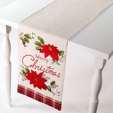 "Avanti Merry Christmas"" Table Runner - 72"""