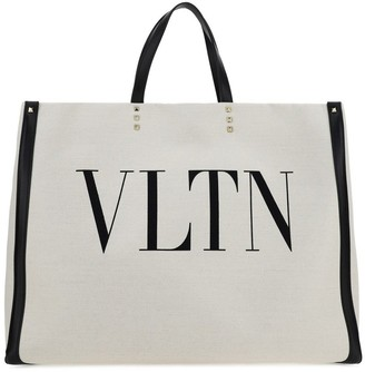 Valentino VLTN Logo Tote Bag