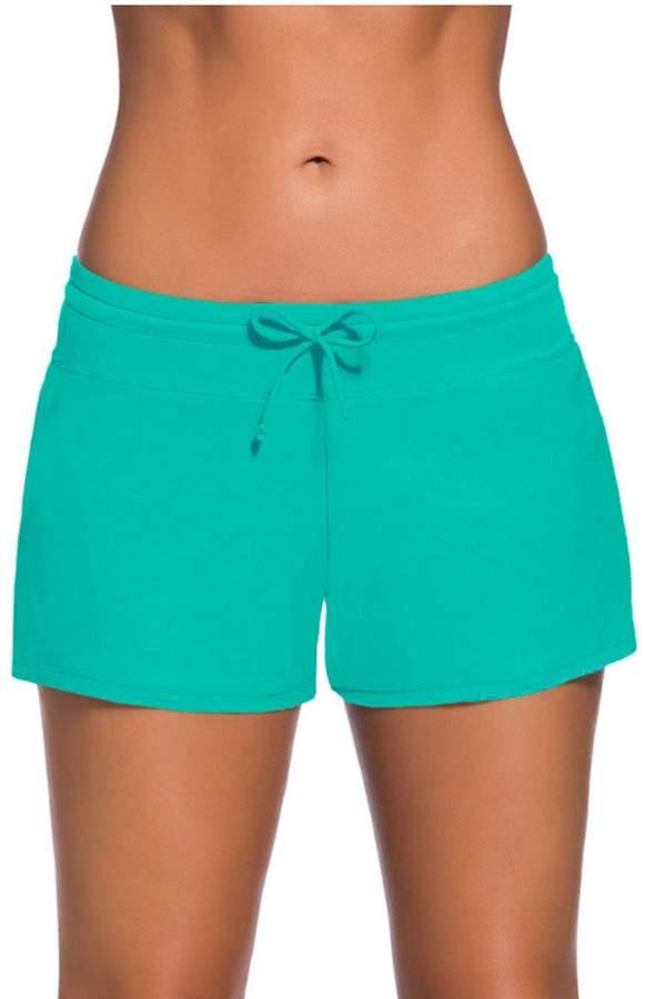 fd905bbaae7e0 High Waisted Swim Shorts - ShopStyle Canada