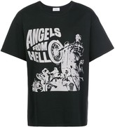 Rhude Angels From Hell print T-shirt