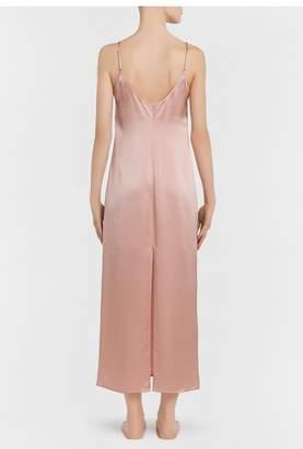 La Perla Silk Powder Pink Silk Long Slip