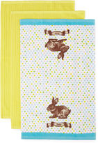 JCP HOME JCPenney HomeTM Easter 3-pc. Kitchen Towels