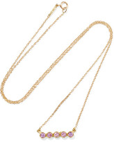 Jennifer Meyer 18-karat Gold Sapphire Necklace - one size