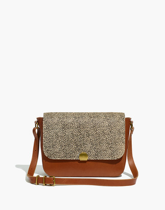 Madewell The Abroad Shoulder Bag: Spotted Calf Hair Edition