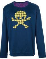 Vivienne Westwood skull applique sweater