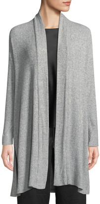 Natori Ulla Rib-Knit Long Lounge Cardigan