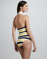 Juicy Couture Port Striped Swim Bottom