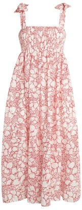 Marysia Swim Sicily Smocked Cotton Dress