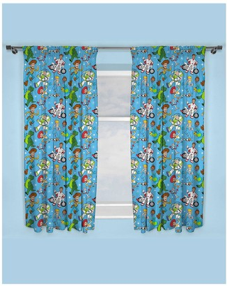 Toy Story Rescue Pleated Curtains