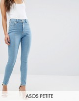 Asos Ridley Skinny Jeans in Anais Light Wash