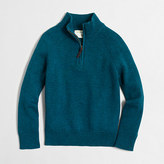 J.Crew Factory Boys' half-zip popover sweater