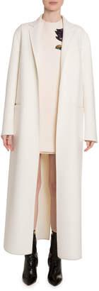Valentino Wool-Cashmere Floor Length Coat