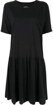 Comme des Garcons Pre-Owned gathered T-shirt dress