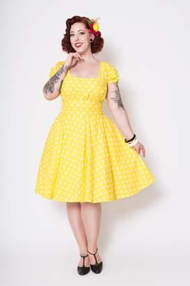 Leota Putre Fashion Polka-Dot Dress