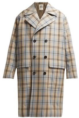 Connolly - Oversized Wool Coat - Beige Multi