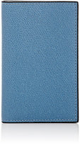 Valextra Men's Folding Card Case-BLUE