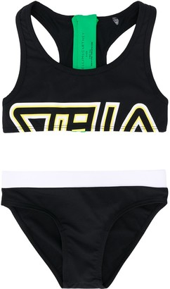 Stella Mccartney Kids Sport Colour-Block Bikini