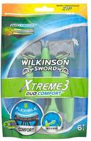 Wilkinson Sword Xtreme 3 Duo Comfort disposables 6s