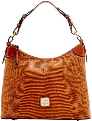 Dooney & Bourke Embossed Lizard Hobo