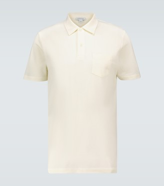 Sunspel Short-sleeved Riviera polo shirt