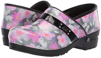 Sanita Petal (Pink) Women's Clog Shoes