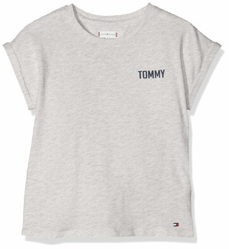 Tommy Hilfiger Girl's Ambition Tommy S/s Tee T-Shirt