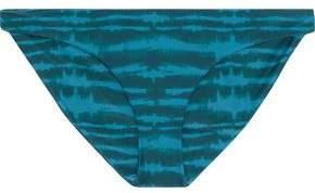 Mikoh Zuma Tie-dyed Low-rise Bikini Briefs