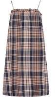 Dorothy Perkins Womens **Noisy May Blue Check Dress- Blue