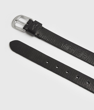 AllSaints Marson Leather Belt