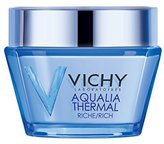 Vichy Aqualia Thermal Rich Cream 48 Hour Facial Moisturizer with Hyaluronic Acid for Dry Skin, 1.69 Fl. Oz. (Packaging may vary)