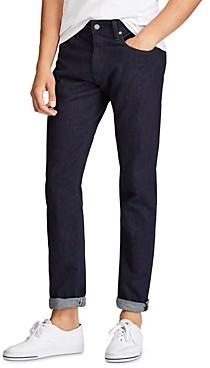 Polo Ralph Lauren Hampton Relaxed Straight Fit Jeans in Dark Miller