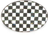 Mackenzie Childs MacKenzie-Childs Small Courtly Check Oval Platter