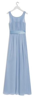 Dorothy Perkins Womens Showcase Blue Natalie Bridesmaid Maxi Dress, Blue