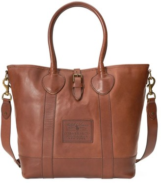 Polo Ralph Lauren Heritage Leather Tote