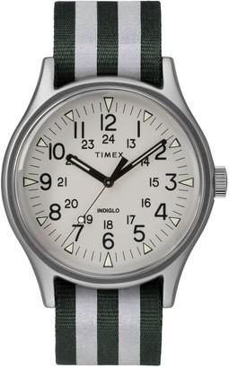 Timex Men's MK1 Nylon Strap Watch, 40mm