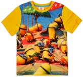 Boys Minions T-Shirt Official Despicable Me Top New Kids Short Seeved Tee