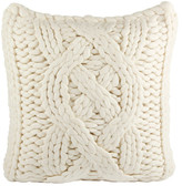 "UGG Oversized Knit Pillow Cover - Natural White - 20"" x 20"""