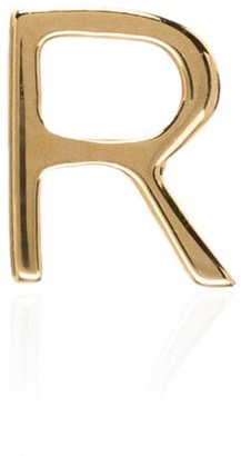 Loquet 18kt yellow gold R letter charm