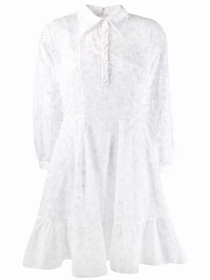 Valentino broderie anglaise mini dress