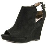 Carlos by Carlos Santana Manchester Open Toe Canvas Wedge Heel.