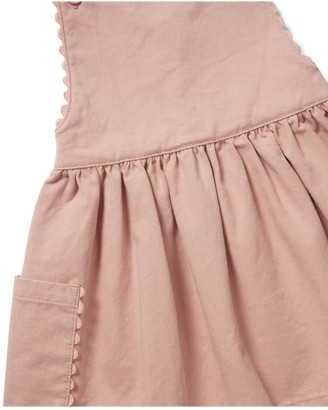 Mamas and Papas Baby Girls Twill Pinny Dress - Pink