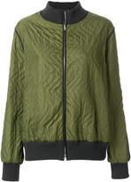 Marni fusion bevelled bomber jacket