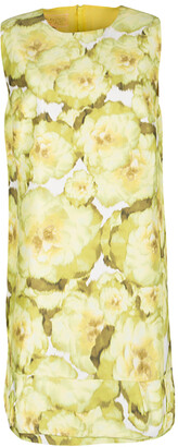 Giambattista Valli Multicolor Floral Print Sleeveless Dress M
