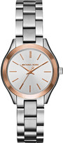 Michael Kors 3514 Mini Slim Runway stainless steel watch