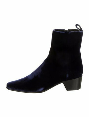 Pierre Hardy Suede Boots w/ Tags Blue