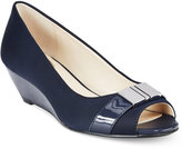 Alfani Women's Step 'N Flex Chorde Wedge Pumps, Created for Macy's Women's Shoes