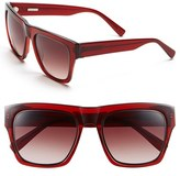 Derek Lam Women's 'Mercer' 54Mm Sunglasses - Red Brown