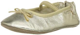 Robeez Baby-Girl's Rachel Ballet Flat Crib Shoe